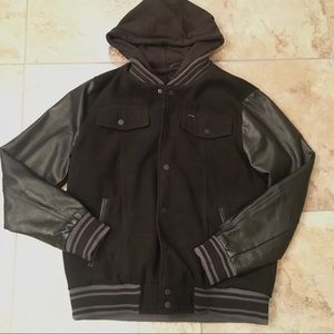 Black Hurley Jacket Large